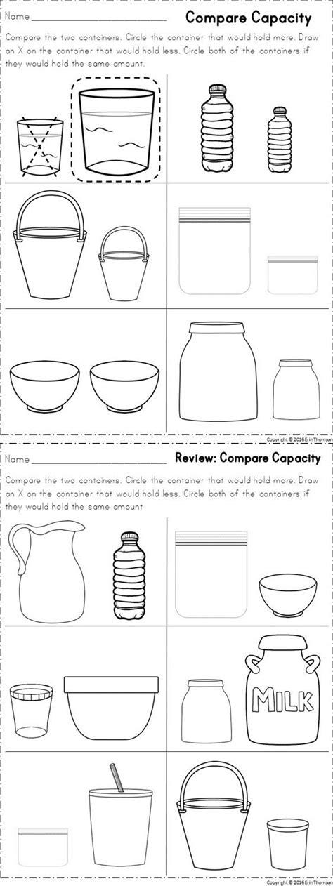 kindergarten math measurement kindergarten math