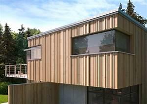 Lärche Sägerauh Fassade : dreidimensionale holzfassade ~ Michelbontemps.com Haus und Dekorationen