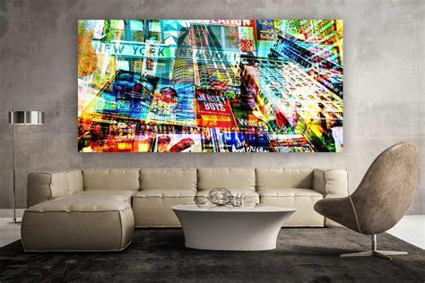 Bild Auf Alu by New York Bild Moderne Kunstmotive Auf Leinwand