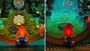 Crash Bandicoot 2 NSane Trilogy Remaster PS4 Vs PS1
