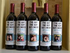 will you be my bridesmaid fun ways to pop the question With custom wine labels for bridesmaids