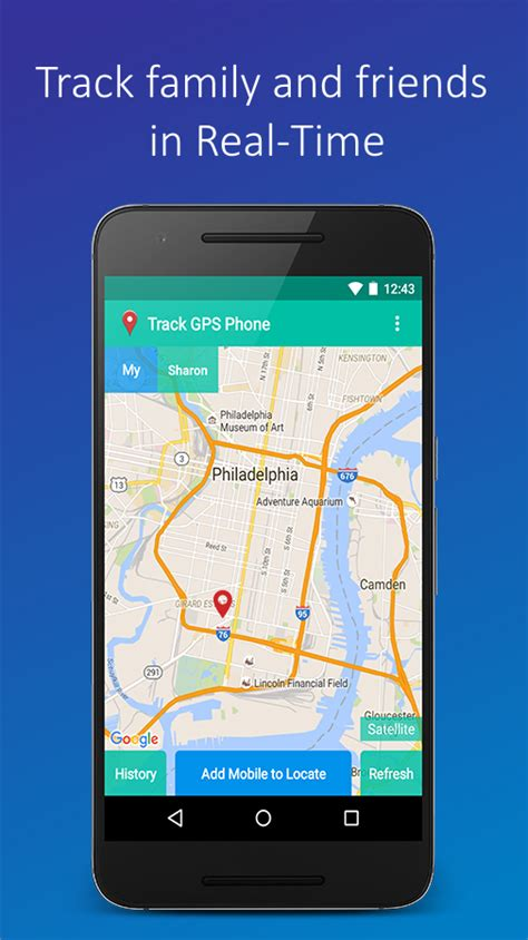 Gps Phone Tracker  Best Android Phone Locator App