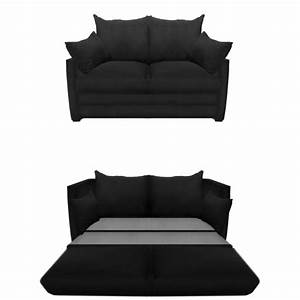 Sofa bed design cheap black sofa beds classic double for Sofa becomes bed