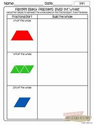 best pattern block templates  ideas and images on bing  find what  pattern block fraction worksheets