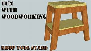 Project - Build a quick and easy stand for your shop tools