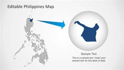 editable philippines map template  powerpoint slidemodel