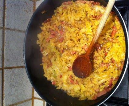 chou blanc aux lardons recette de chou blanc aux lardons