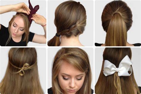 cute easy hairstyles for school step by step hair