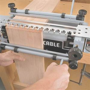 Porter cable 4216 super jig dovetail jig 4215 with mini for Porter cable dovetail jig templates