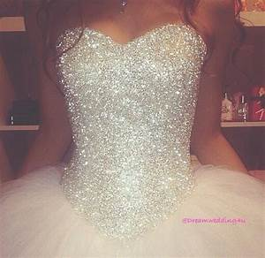 dress princess wedding dresses wedding dress white With glitter wedding dress