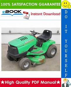 Best  U2606 U2606 John Deere Sabre Lawn Tractors Technical Manual