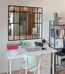 DIY Dco Une Verrire Intrieure Style En Miroir