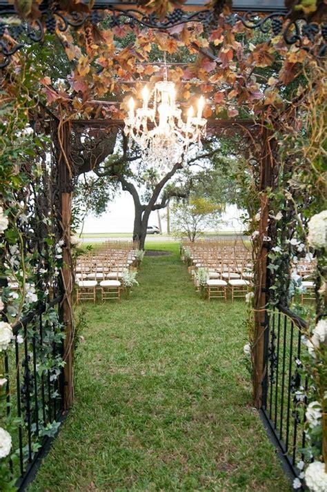 champagne ivory  gold secret garden inspired wedding