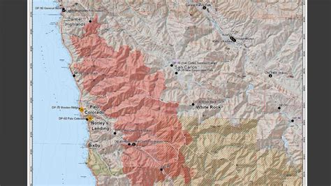 fire soberanes spread lapse maps ksbw cal map wildfire
