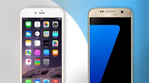 galaxy vs iphone samsung galaxy s7 vs iphone 6s which is the best