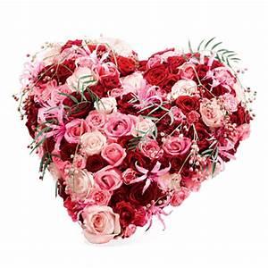 Herz Mit Blumen : remember me valentinstagskollektion fleurop ~ Frokenaadalensverden.com Haus und Dekorationen