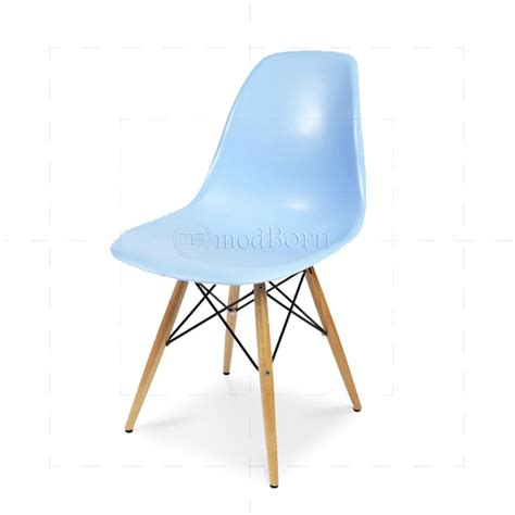 eames style dining dsw chair blue