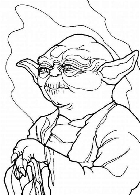 star wars yoda coloring pages coloring home