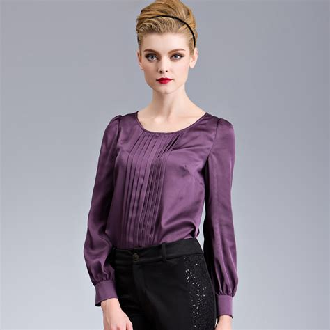 purple blouse womens formal shirt dress cool purple formal shirt dress
