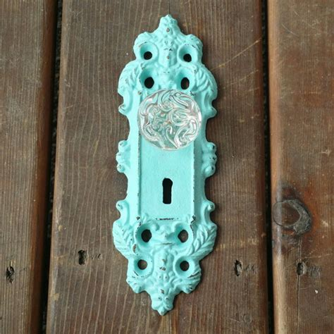 door knob hook or curtain tie back cast iron by