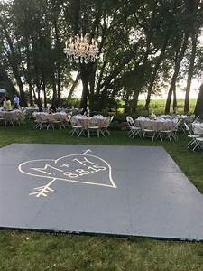 build a dance floor outside suspended chandelier in the With how to make an outdoor wedding dance floor
