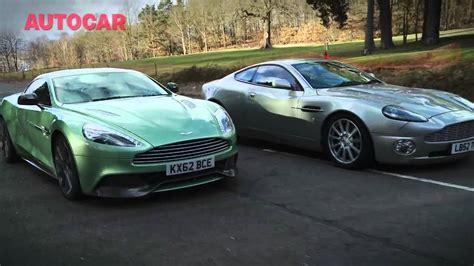 Aston Martin Sharebeast by Aston Martin Vanquish Meet The Ancestors Autocar Co Uk