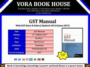Title - Gst Manual Publisher - Taxmann Price
