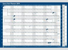 Sasco Unmounted Year Planner 2018 – Sasco Planners
