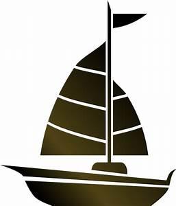 Simple Sailboat Clip Art at Clker.com - vector clip art ...