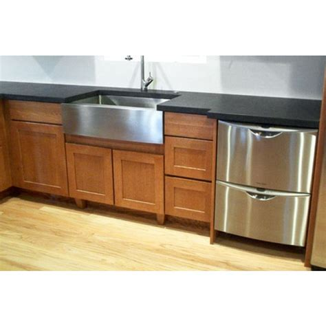 36 farmhouse apron sink 36 inch stainless steel single bowl flat front farm apron