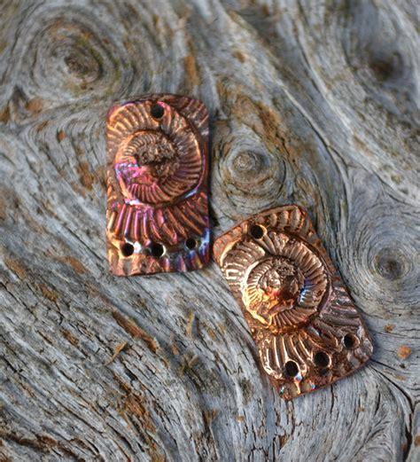 art bead scene blog bronze  copper clay components