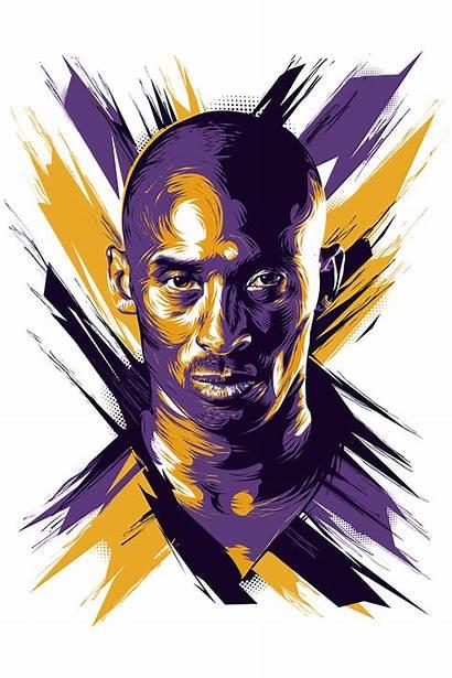 Kobe Bryant Mamba Nba Basketball Lakers Vector