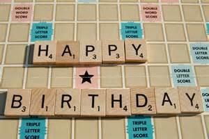 photo album 4x6 scrabble happy birthday card