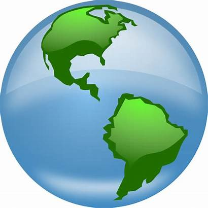 Globe Clip Glossy Svg Clipart Clker America