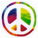 Peace Sign Stickers Hippie Bumper Sticker Signs