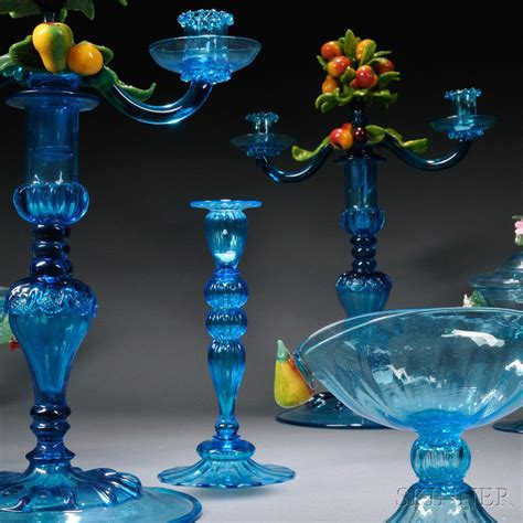 Steuben Barware by Large Of Blue Venetian And Steuben Glassware Sale