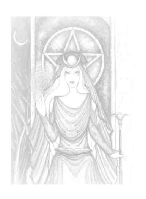 wiccan goddess | Witch coloring pages, Book of shadows