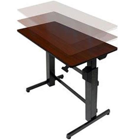 amazon com ergotron workfit d sit stand desk walnut