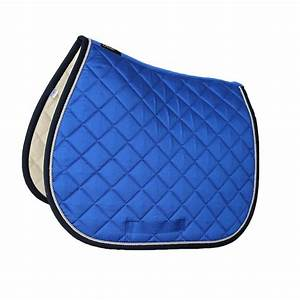 Tapis de selle bleu maison image idee for Tapis de cheval pas cher