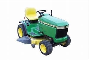 John Deere Gt242 Garden Tractor Maintenance Guide  U0026 Parts List