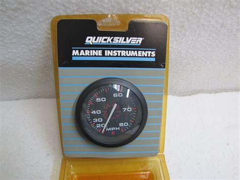 quicksilvermercurymercruiser speedometer gauge kit