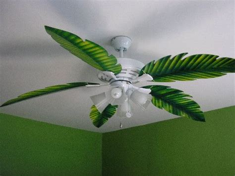 palm leaf ceiling fan replacement blade fit on your
