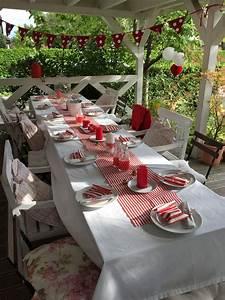 Deko In Weiß : rot wei deko tischdeko pinterest deko rot weiss und tischdeko ~ Yasmunasinghe.com Haus und Dekorationen