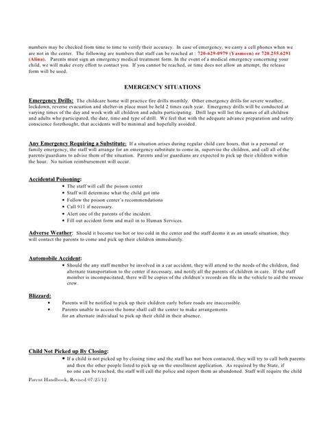 policy handbook preschool 434 | policy handbook preschool 19 728