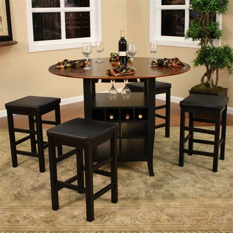 pub table with wine rack somerset counter height dining set by american heritage