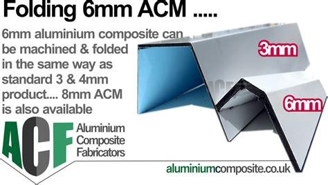 mm aluminiumm composite thicker acm mm