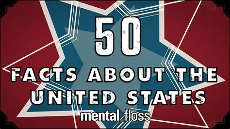 50 United States Facts Covering Each US State - mental ...
