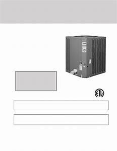 Rheem Classic Heat Pump Pool Heaters Installation And