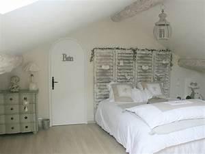 La chambre parentale romantique visitez la maison de for Deco chambre parentale romantique