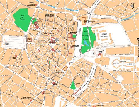Carte Sud Montpellier info montpellier sur la carte de
